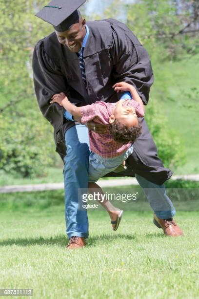 Son Congratulates Dad