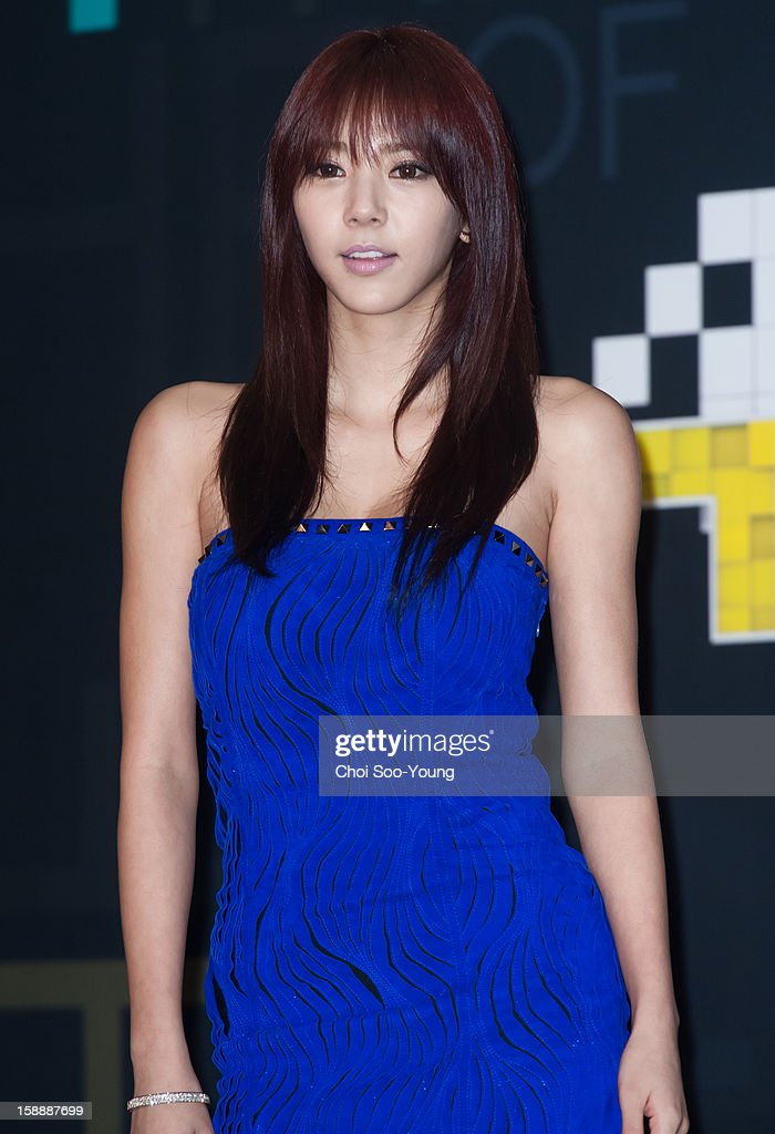 Son Dam-Bi poses for photographs during the 2012 SBS The Color Of K-pop at Korea University's Hwa Jung gymnasium on December 29, 2012 in Seoul, South Korea.