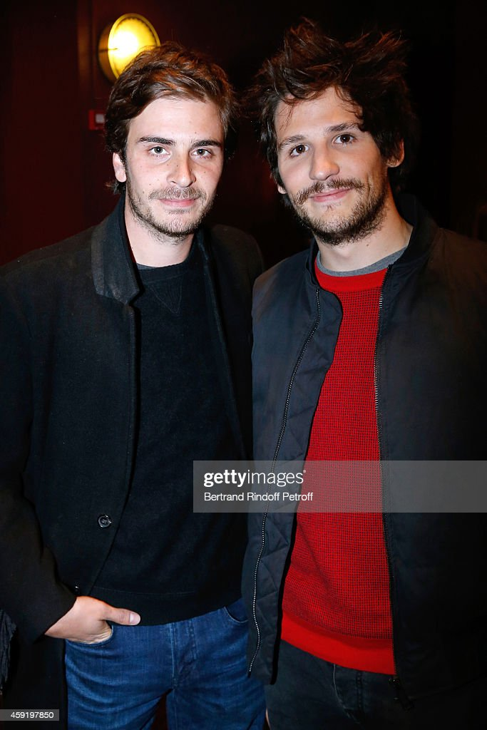 Son of drummer of Group Telephone and actress Marie Trintignant, actor of the movie Roman Kolinka and actor of the movie Felix de Givry attends the 'Eden' Paris Premiere at Cinema Gaumont Marignan on November 18, 2014 in Paris, France.