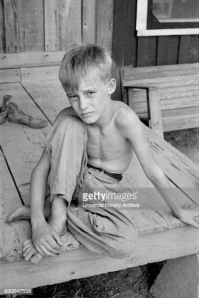 Son of Sharecropper Mississippi County Arkansas USA Arthur Rothstein for Farm Security Administration August 1935
