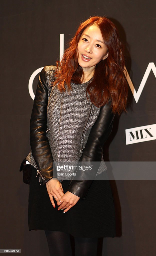 Sona attends the 'drww.' launch & beauty talk concret at Conrad Hotel on March 28, 2013 in Seoul, South Korea.