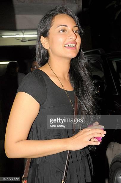 Sonakshi Sinha at the special screening of film Tees Maar Khan in Mumbai