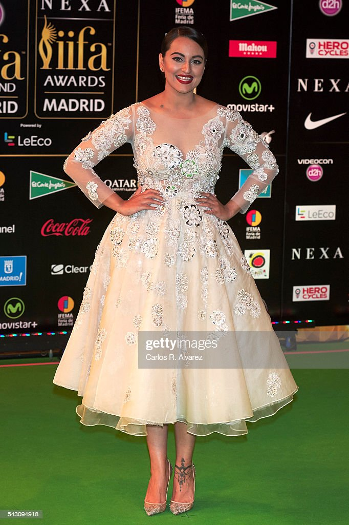 <a gi-track='captionPersonalityLinkClicked' href=/galleries/search?phrase=Sonakshi+Sinha&family=editorial&specificpeople=5781347 ng-click='$event.stopPropagation()'>Sonakshi Sinha</a> attends the 17th IIFA Awards (International Indian Film Academy Awards) at Ifema on June 25, 2016 in Madrid, Spain.