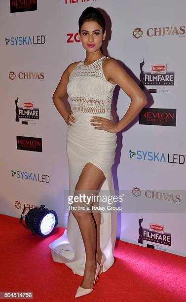 Sonal Chauhan at 61st Filmfare PreAwards Party in Mumbai