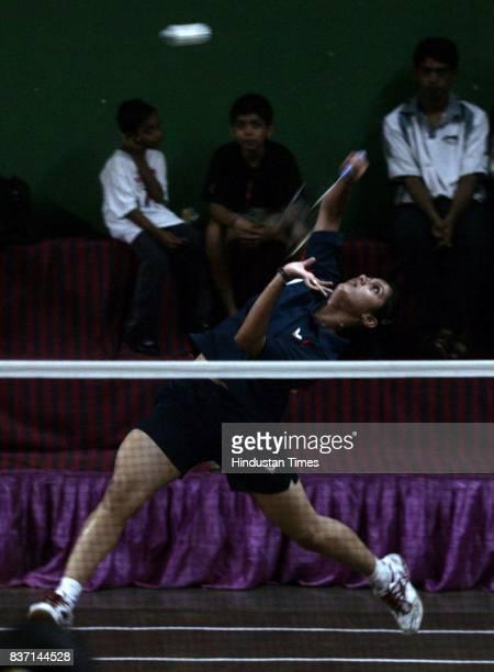 Sonali More and Riya during Vanita Samaj Badminton tournament in Dadar