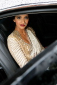 Sonam Kapoor attends a L'Oreal Cocktail Reception during The 66th Annual Cannes Film Festival at the Martinez Hotel on May 15 2013 in Cannes France