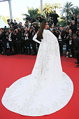 Sonam Kapoor attends a screening of 'From The Land And The Moon ' at the annual 69th Cannes Film Festival at Palais des Festivals on May 15 2016 in...