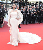 Sonam Kapoor attends the 'Loving' premiere during the 69th annual Cannes Film Festival at the Palais des Festivals on May 16 2016 in Cannes France