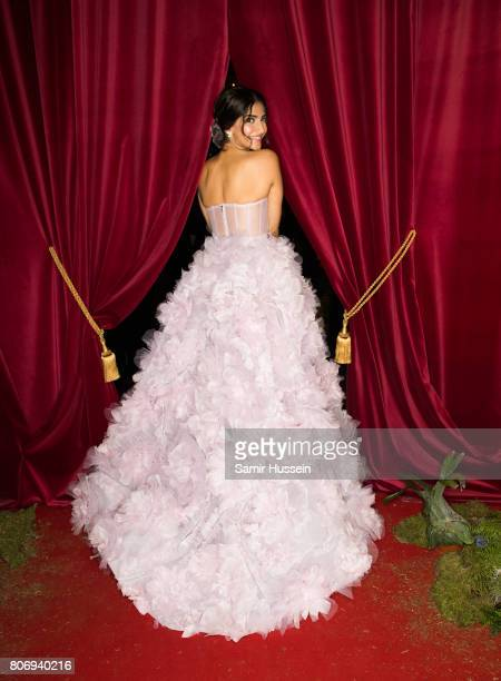 Sonam Kapoor attends the Ralph Russo Party as part of Haute Couture Paris Fashion Week on July 3 2017 in Paris France