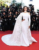 Sonam Kapoor attends the screening of 'From The Land Of The Moon ' at the annual 69th Cannes Film Festival at Palais des Festivals on May 15 2016 in...