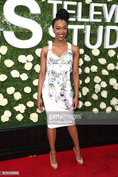 Sonequa MartinGreen attends the 2017 Summer TCA Tour CBS Television Studios' Summer Soiree at CBS Studios Radford on August 1 2017 in Studio City...