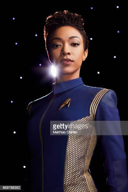 Sonequa MartinGreen from Star Trek Discovery is photographed for Entertainment Weekly Magazine on July 9 2017 in Los Angeles California COVER IMAGE
