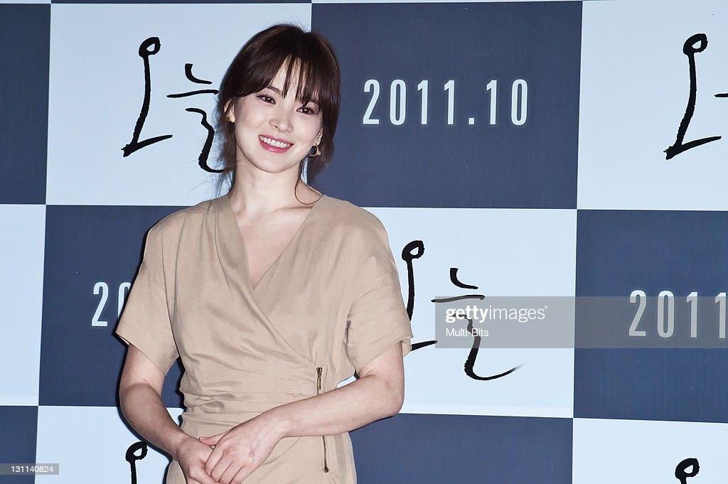 <a gi-track='captionPersonalityLinkClicked' href=/galleries/search?phrase=Song+Hye-Kyo&family=editorial&specificpeople=4238502 ng-click='$event.stopPropagation()'>Song Hye-Kyo</a> attends the movie 'Today' press conference at Gun Dae Lotte Cinema on October 12, 2011 in Seoul, South Korea.