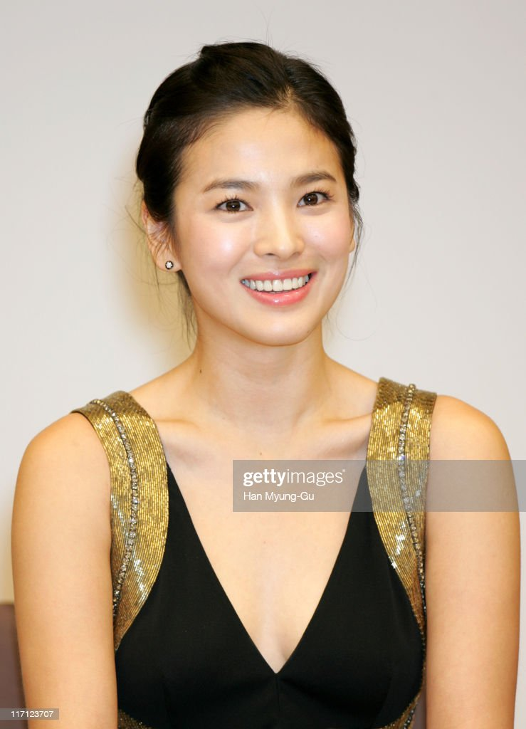 Song Hye-kyo during 'My Girl & I' Seoul Press Photocall at Munhwa Hall in Seoul, South, South Korea.
