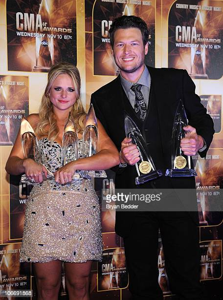 Song of the Year winner Album of the Year winner and Female Vocalist of the Year Miranda Lambert and Male Vocalist of the Year and Musical Event of...