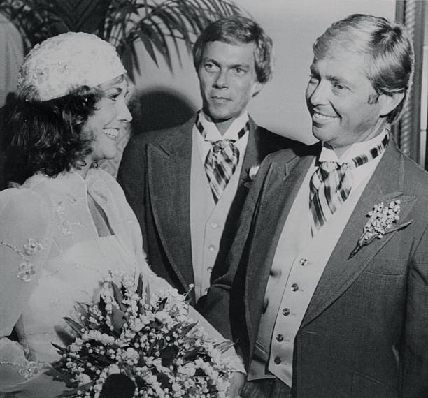 Portrait Of Karen Carpenter With Her Husband And Brother