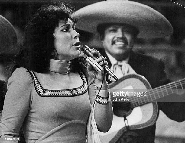 AUG 29 1975 SEP 1 1975 Songs and Excitement at Mexican Rodeo in Denver Latin American film star Antonio Aguilar brought his National Mexican Festival...