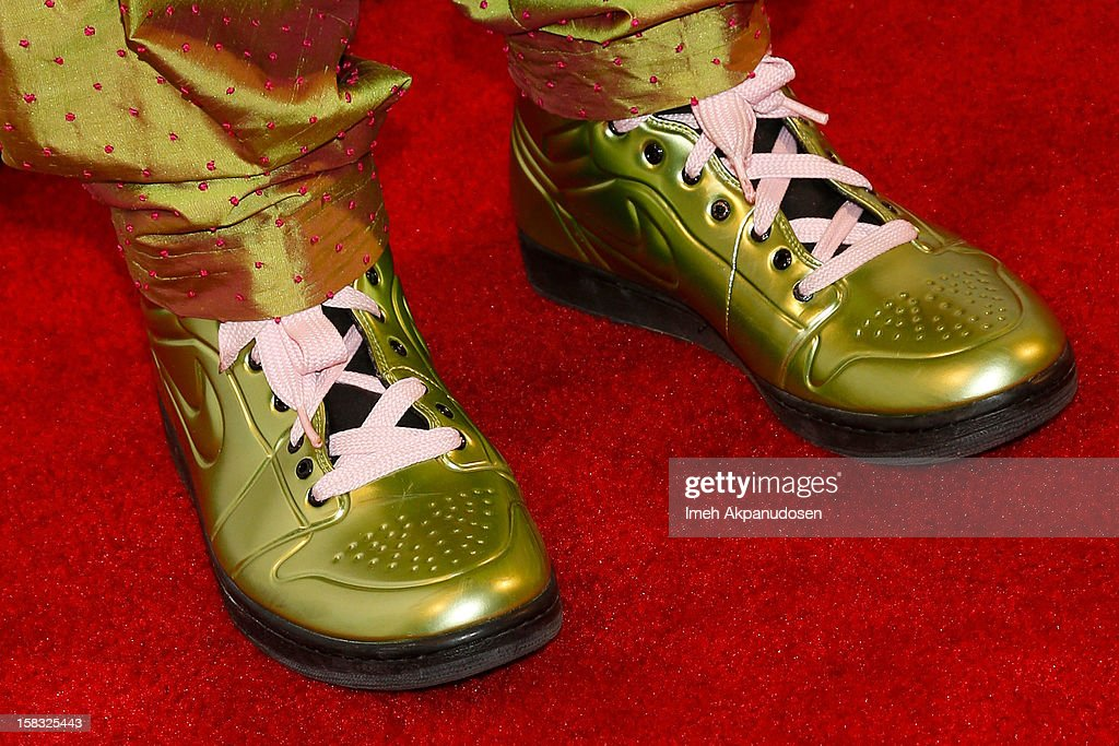 Songwriter Allee Willis (shoe detail) attends the 14th Annual Women's Image Network Awards at Paramount Theater on the Paramount Studios lot on December 12, 2012 in Hollywood, California.