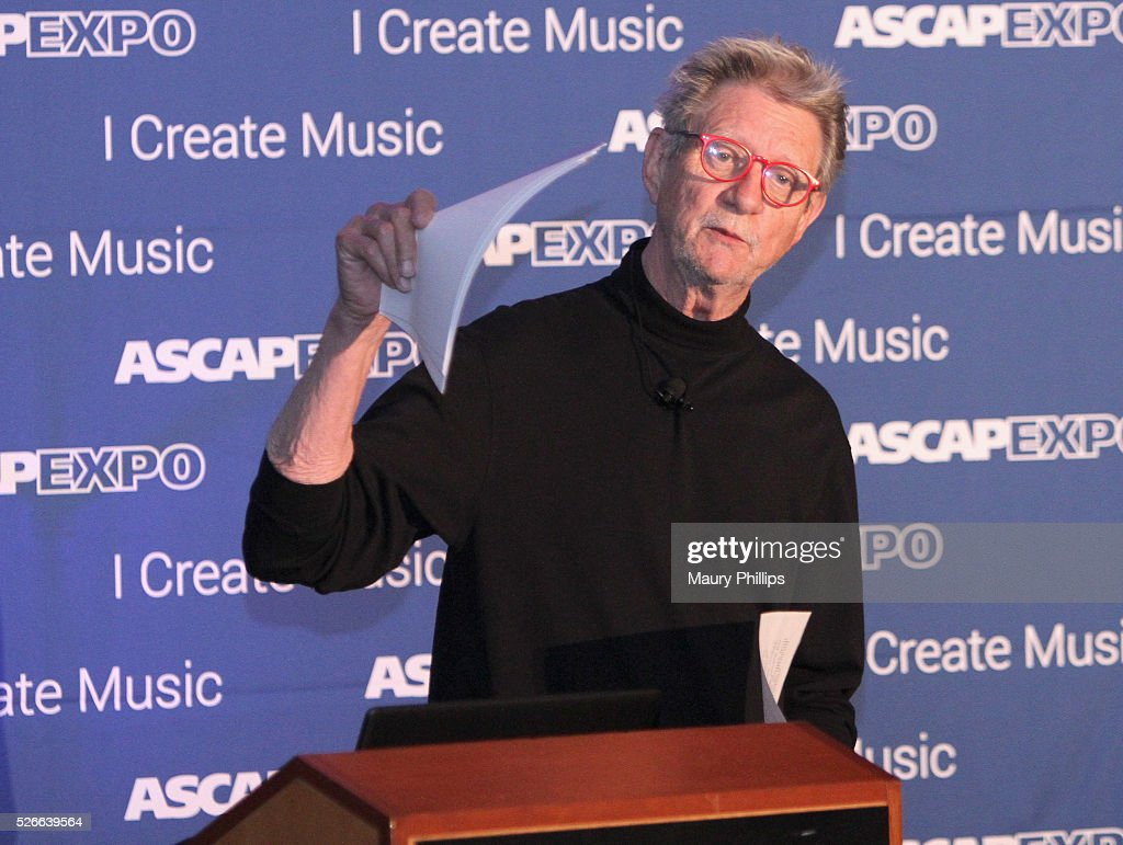 ASCAP / Songwriter, Author Ralph Murphy speaks onstage at the 2016 ASCAP 'I Create Music' EXPO on April 30, 2016 in Los Angeles, California.
