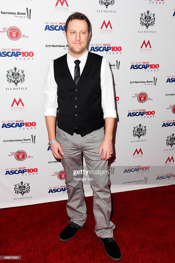 Songwriter Ben Glover attends ASCAP's 2014 Grammy Nominee Brunch at SLS Hotel on January 25, 2014 in Beverly Hills, California.