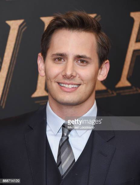 Songwriter Benj Pasek attends the 'The Greatest Showman' World Premiere aboard the Queen Mary 2 at the Brooklyn Cruise Terminal on December 8 2017 in...