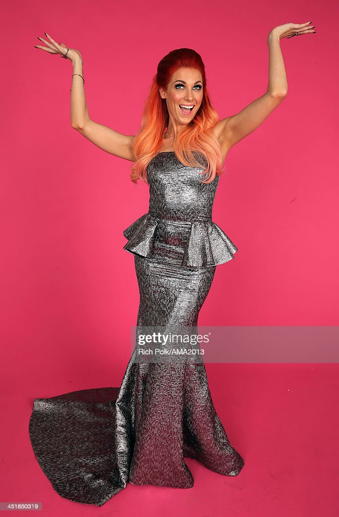 Songwriter <a gi-track='captionPersonalityLinkClicked' href=/galleries/search?phrase=Bonnie+McKee&family=editorial&specificpeople=240200 ng-click='$event.stopPropagation()'>Bonnie McKee</a> poses for a portrait during the 2013 American Music Awards at Nokia Theatre L.A. Live on November 24, 2013 in Los Angeles, California.