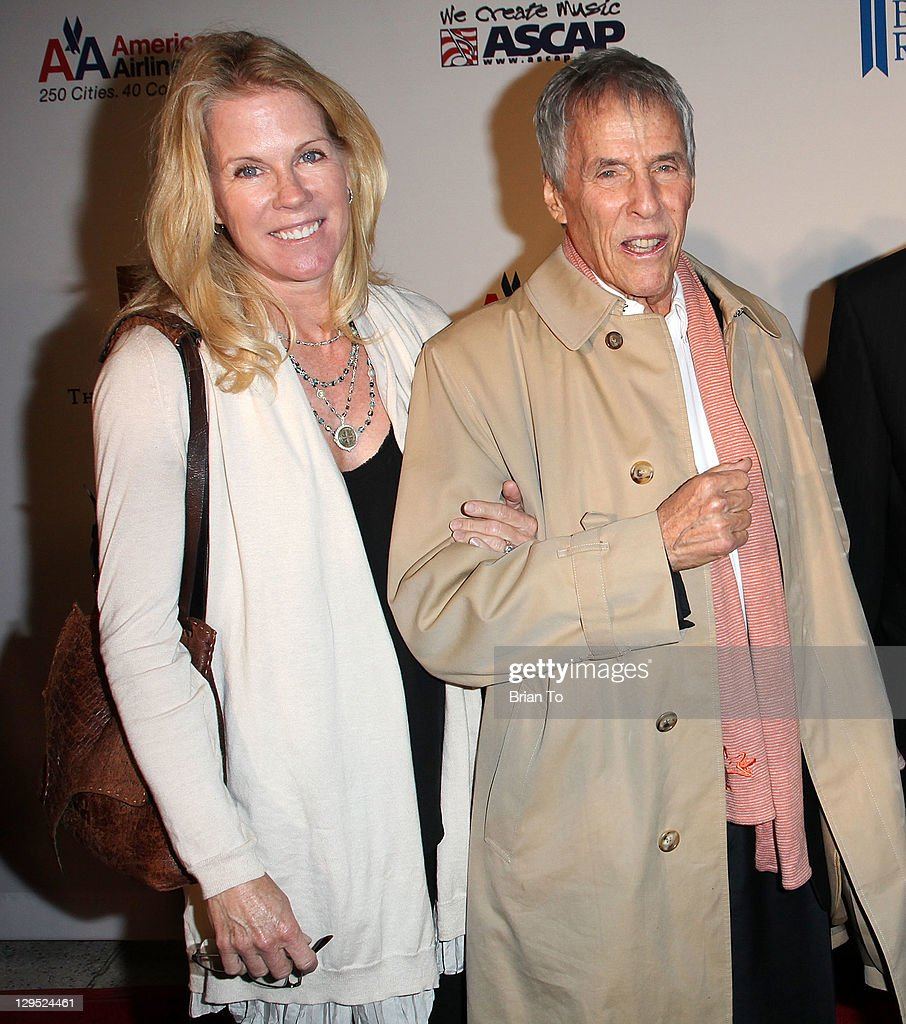 Songwriter Burt Bacharach (R) and wife Jane Hansen attend 'Love, Sweet Love' musical tribute to Hal David at Mark Taper Forum on October 17, 2011 in Los Angeles, California.