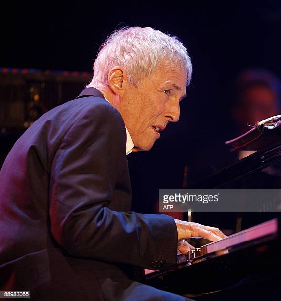 US songwriter Burt Bacharach performs during a concert on July 11 2009 at the 34th North Sea Jazz Festival in Rotterdam AFP PHOTO/ANP ROBERT VOS...