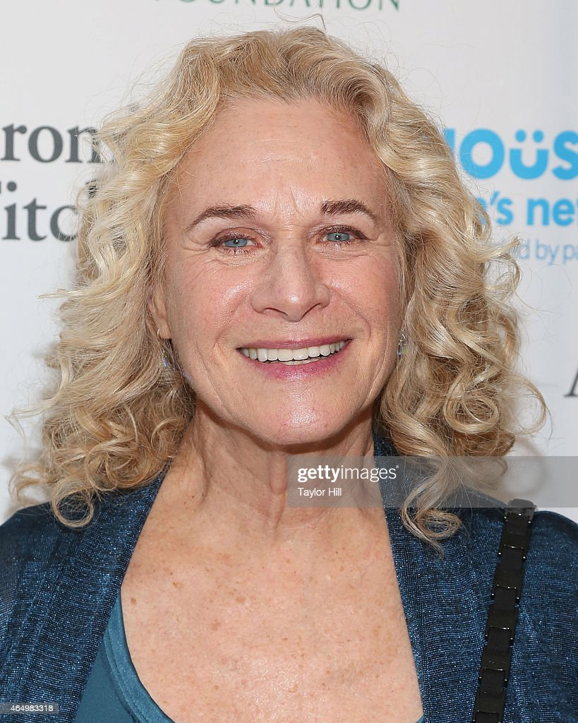 Songwriter Carole King attends the SeriousFun Children's Network's New York City Gala at Avery Fisher Hall on March 2, 2015 in New York City.