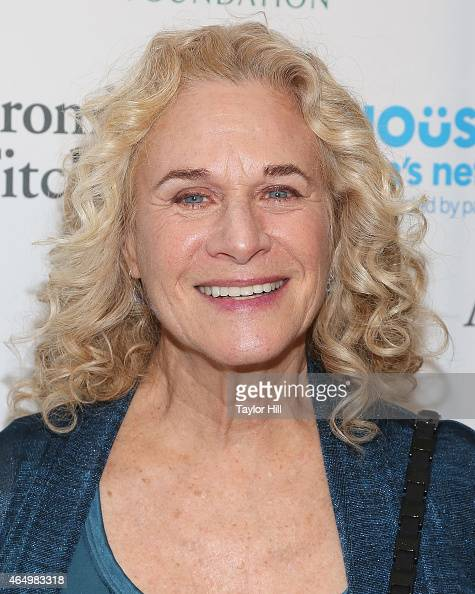 Songwriter Carole King attends the SeriousFun Children's Network's New York City Gala at Avery Fisher Hall on March 2 2015 in New York City