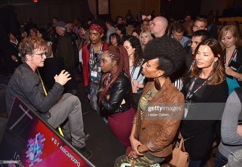 Songwriter Dan Wilson greets EXPO attendees during the 2016 ASCAP 'I Create Music' EXPO on April 28, 2016 in Los Angeles, California.