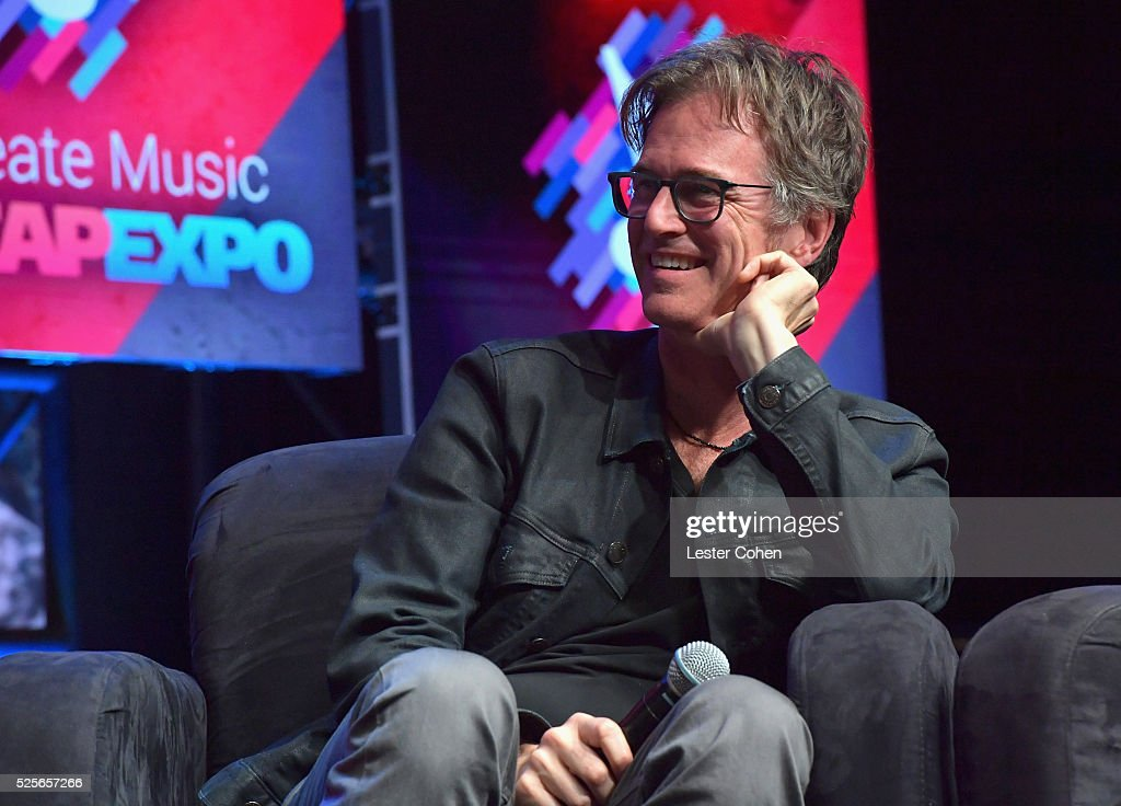 Songwriter Dan Wilson speaks onstage during the 'We Create Music' panel presented by Billboard, part of the 2016 ASCAP 'I Create Music' EXPO on April 28, 2016 in Los Angeles, California.