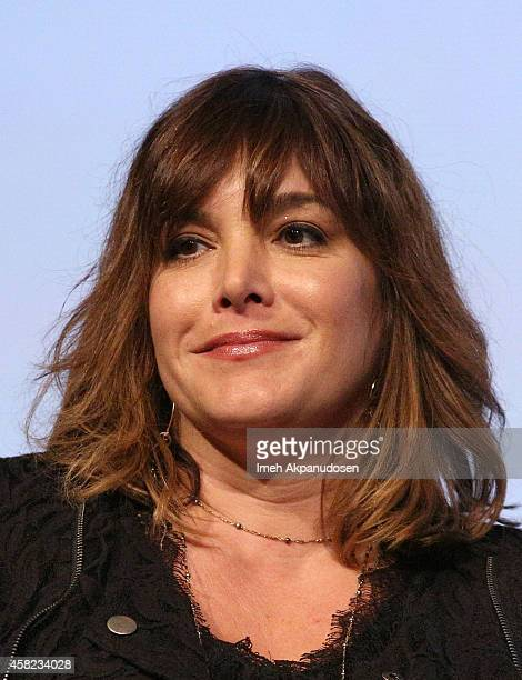 Songwriter Danielle Brisebois speaks onstage during Deadline's The Contenders at DGA Theater on November 1 2014 in Los Angeles California