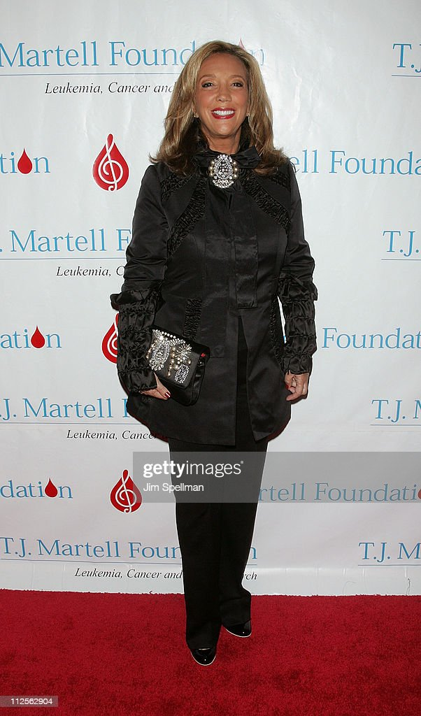 Songwriter Denise Rich arrive at the 32nd Annual T.J. Martell Foundation Gala at the New York Hilton and Towers On October 23, 2007 in New York City.