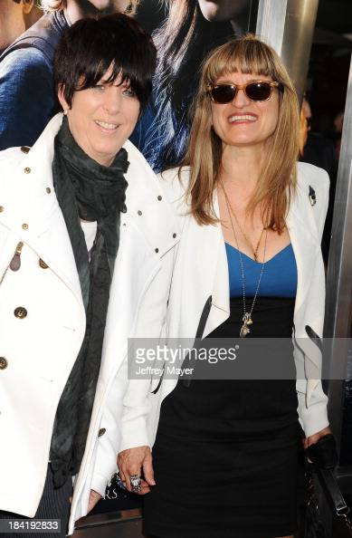 Songwriter Diane Warren and director Catherine Hardwicke arrive at the Los Angeles premiere of 'The Mortal Instruments City Of Bones' at ArcLight...