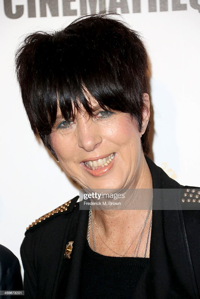 Songwriter <a gi-track='captionPersonalityLinkClicked' href=/galleries/search?phrase=Diane+Warren&family=editorial&specificpeople=234753 ng-click='$event.stopPropagation()'>Diane Warren</a> arrives at the 27th American Cinematheque Award honoring Jerry Bruckheimer at The Beverly Hilton Hotel on December 12, 2013 in Beverly Hills, California.
