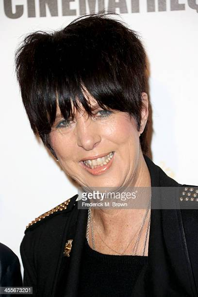 Songwriter Diane Warren arrives at the 27th American Cinematheque Award honoring Jerry Bruckheimer at The Beverly Hilton Hotel on December 12 2013 in...