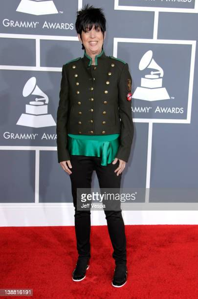 Songwriter Diane Warren arrives at The 54th Annual GRAMMY Awards at Staples Center on February 12 2012 in Los Angeles California