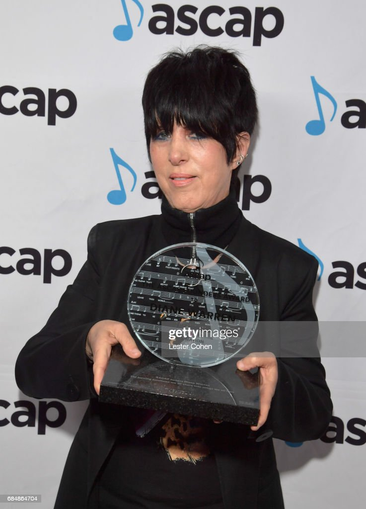 Songwriter Diane Warren at the 2017 ASCAP Pop Awards at The Wiltern on May 18, 2017 in Los Angeles, California.