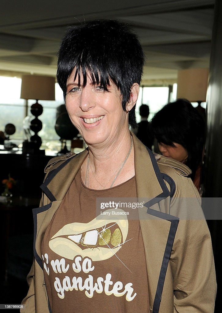 Songwriter <a gi-track='captionPersonalityLinkClicked' href=/galleries/search?phrase=Diane+Warren&family=editorial&specificpeople=234753 ng-click='$event.stopPropagation()'>Diane Warren</a> attends the 4th Annual Roc Nation Pre-GRAMMY Brunch at Soho House on February 11, 2012 in West Hollywood, California.