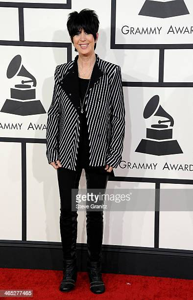 Songwriter Diane Warren attends the 56th GRAMMY Awards at Staples Center on January 26 2014 in Los Angeles California