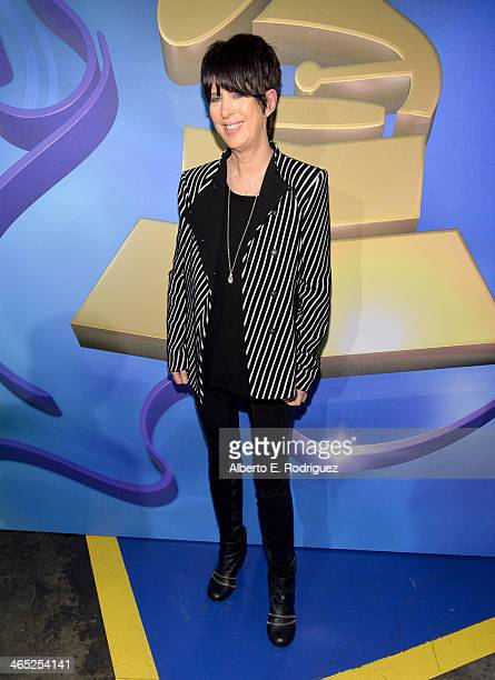 Songwriter Diane Warren attends the 56th GRAMMY Awards PreTelecast at Nokia Theatre LA Live on January 26 2014 in Los Angeles California