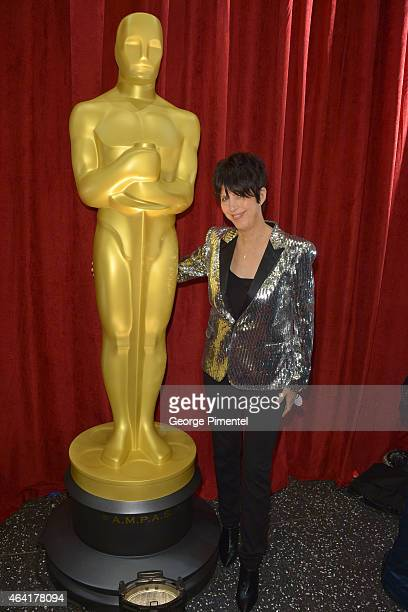Songwriter Diane Warren attends the 87th Annual Academy Awards at Hollywood Highland Center on February 22 2015 in Hollywood California