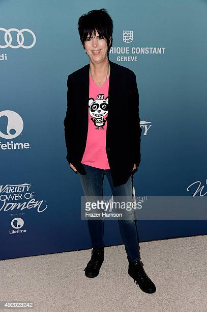 Songwriter Diane Warren attends Variety's Power Of Women Luncheon at the Beverly Wilshire Four Seasons Hotel on October 9 2015 in Beverly Hills...