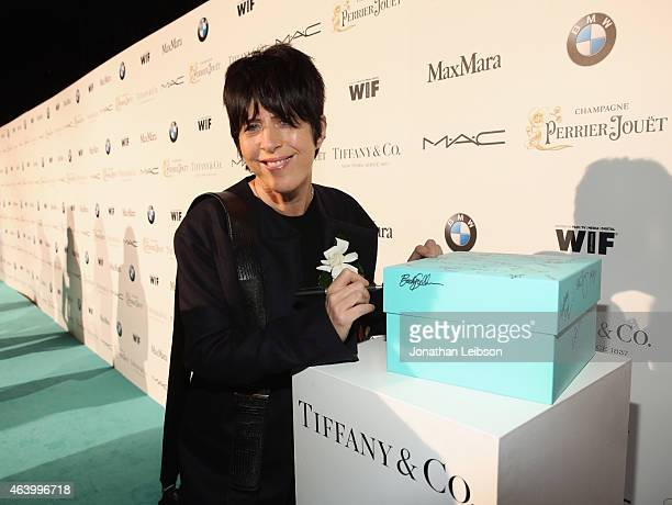 Songwriter Diane Warren attends Women In Film PreOscar Cocktail Party presented by MaxMara BMW Tiffany Co MAC Cosmetics and PerrierJouet at Hyde...