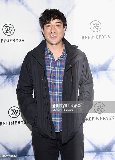 Songwriter Ed Droste of Grizzly Bear attends Refinery29 Los Angeles Holiday Party Hosted By R29 EditorAtLarge Drew Barrymore at Sunset Tower on...