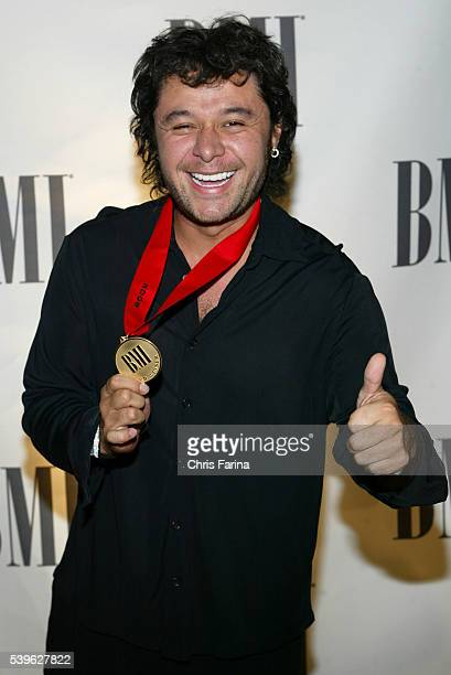 Songwriter Estéfano arrives for the 12th Annual BMI Latin Music Awards at the Four Seasons Hotel His song 'Ahora Quién' won an award