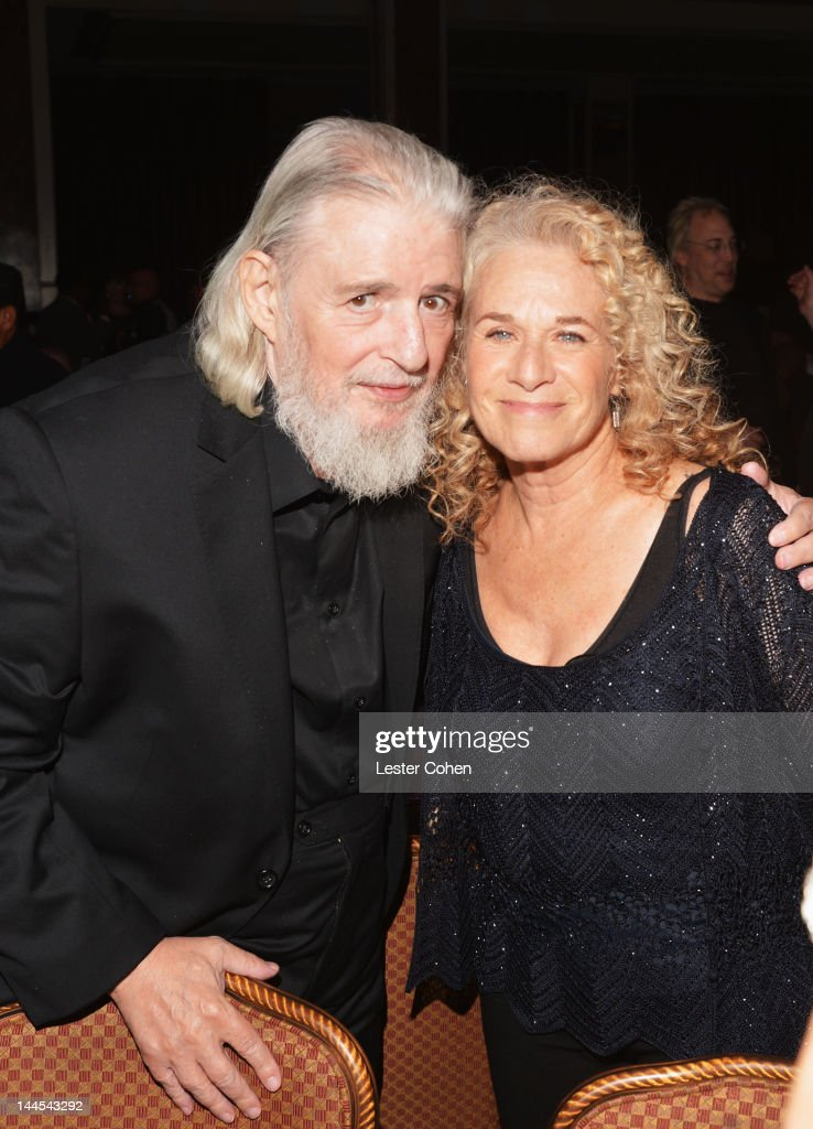 Songwriter Gerry Goffin and BMI Pop Icon Award recipient Carole King pose during the 60th annual BMI Pop Awards at the Beverly Wilshire Four Seasons...