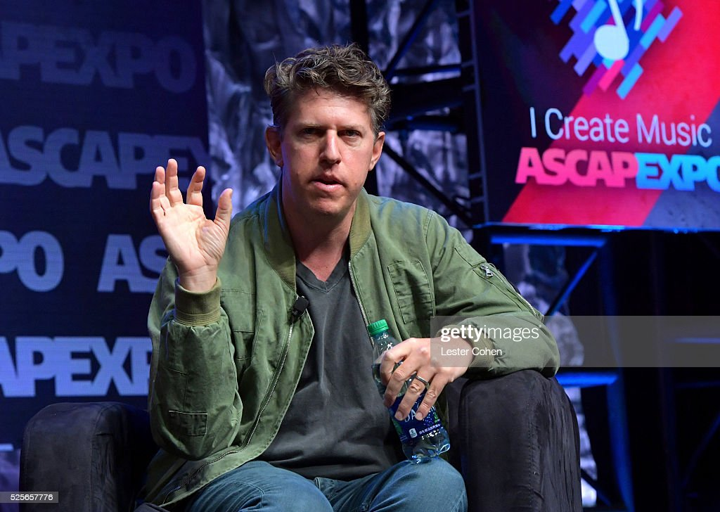 Songwriter Greg Kurstin speaks onstage during a master session, part of the 2016 ASCAP 'I Create Music' EXPO on April 28, 2016 in Los Angeles, California.
