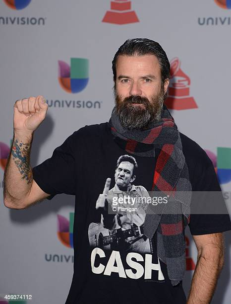 Songwriter Jarabe de Palo attends the 15th annual Latin GRAMMY Awards at the MGM Grand Garden Arena on November 20 2014 in Las Vegas Nevada